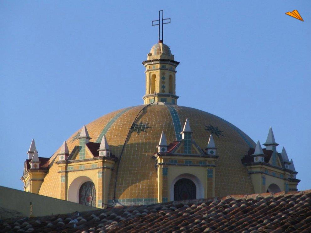 C 250 Pula De La Iglesia De San Pedro En Zacatl 225 N Puebla