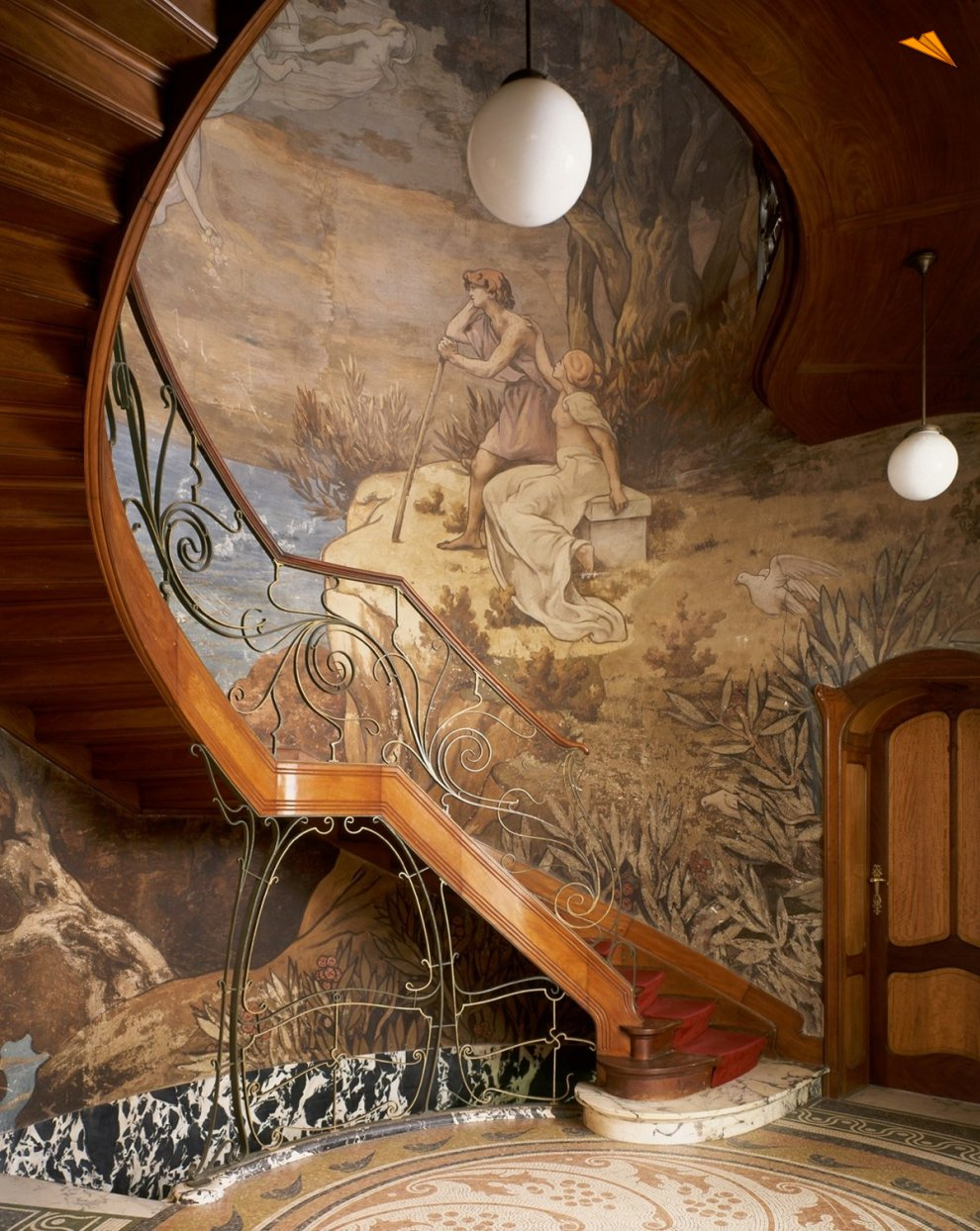 Hotel hannon fotos de viajes c paul louis for Arredamento art nouveau