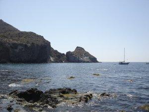 fotos Cabo de Gata, Almería. Cala Higuera, Isleta del Moro y Los Escullos