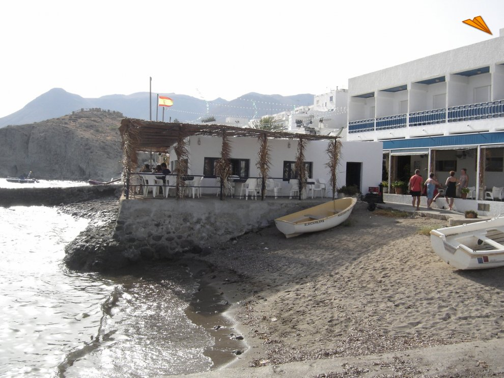 Isleta del moro hotel restaurante junto al mar turismo for Hoteles junto al mar