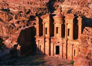 fotos Jordania. Petra. Una ciudad de color rojizo, casi tan antigua como el mismo tiempo