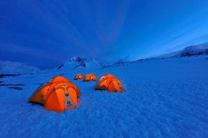 fotos Acampada en la Antártida