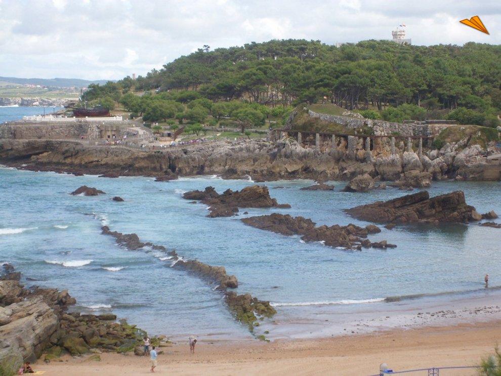Playa de santander fotos de viajes turismo en santander - Vacaciones en cantabria ...