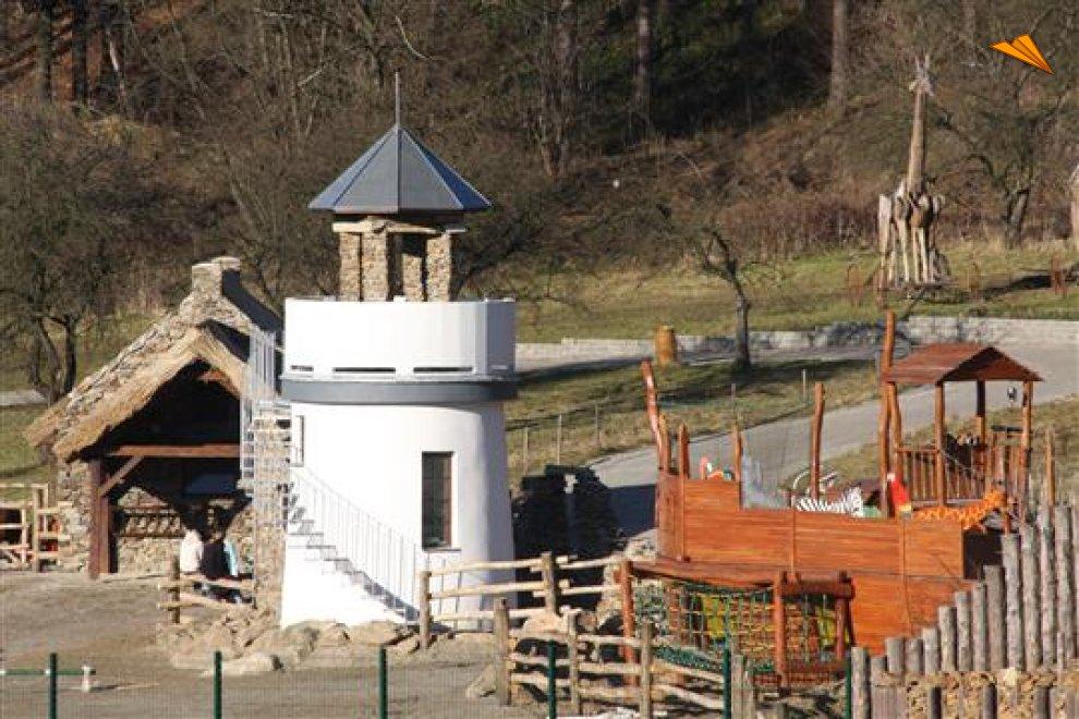 Vista de la entrada al jard n zool gico fotos de viajes for Al jardin de la republica