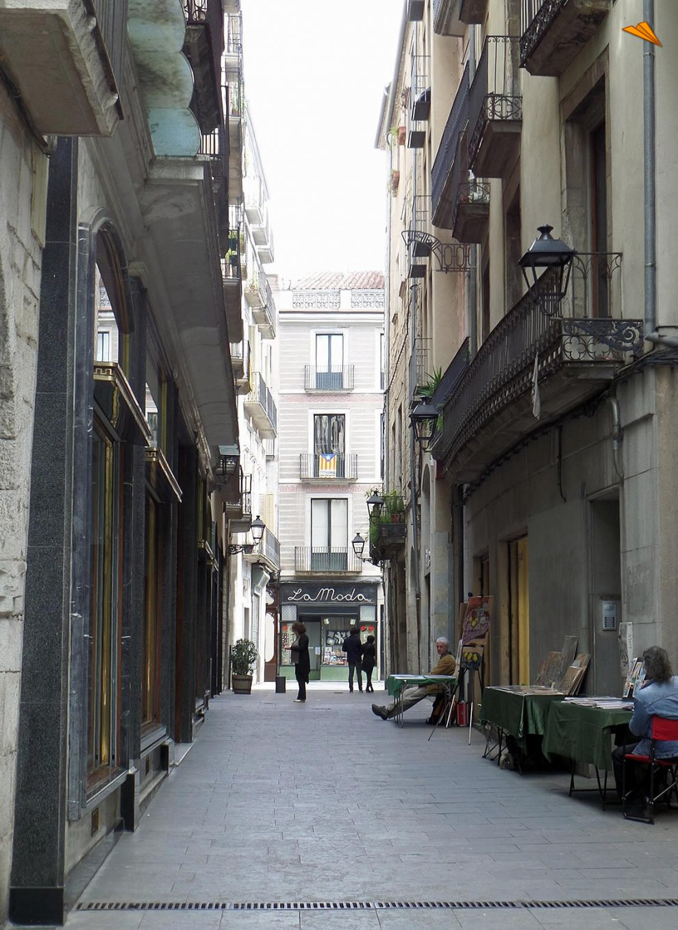 Calle de la ciudad gremial casco antiguo de gerona fotos de viajes turismo gerona - Casco antiguo de girona ...