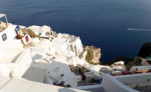 fotos Santorini, belleza natural única