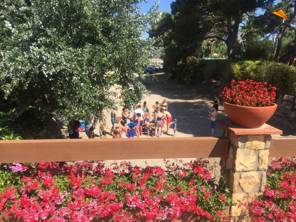 d5303464eb16 Actividades para niños en Playa Montroig Camping Resort.. Fotos de viajes.  Turismo Tarragona
