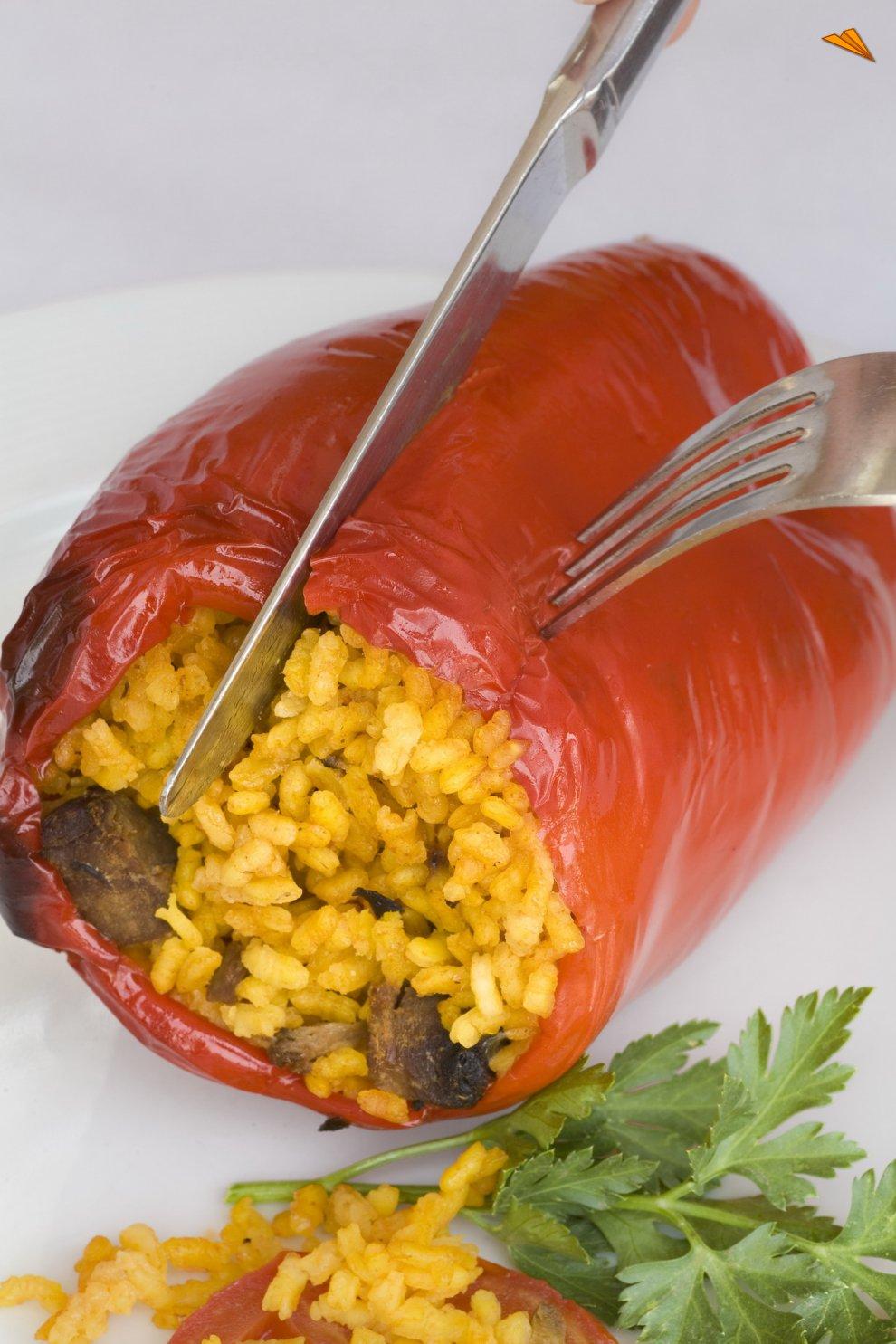 receta con pimiento rojo
