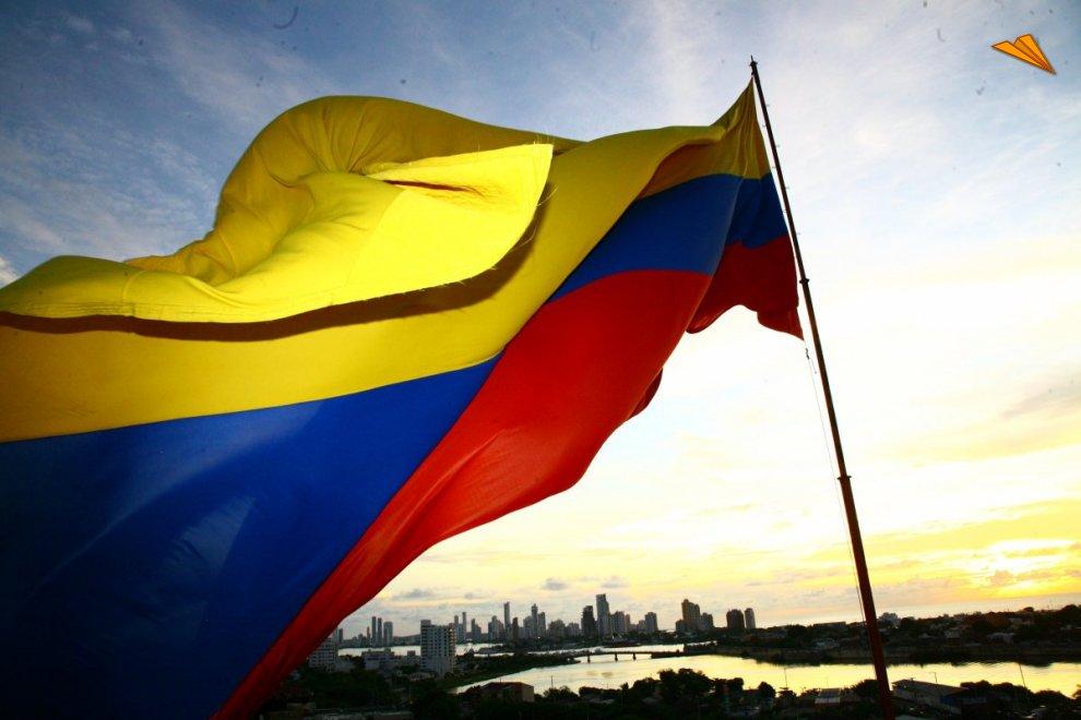 Bandera colombiana fotos de viajes cartagena de indias - Banera de viaje ...