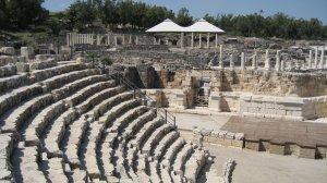 fotos  Beit Shean, Israel. Puerta al Jardín del Edén