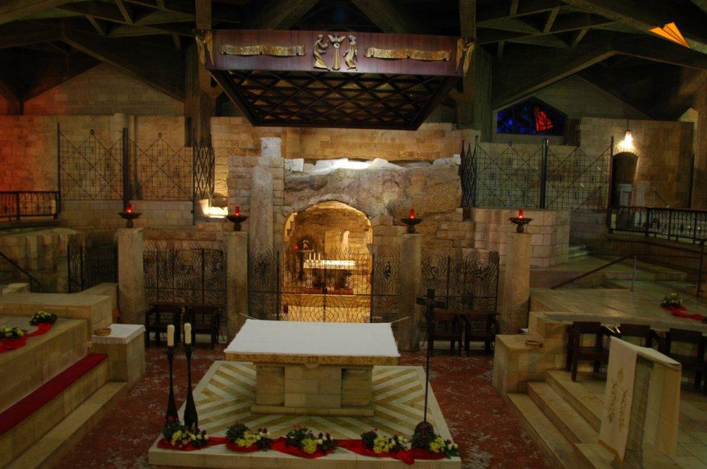 Resultado de imagen de Nazareto, basílica de la anunciación