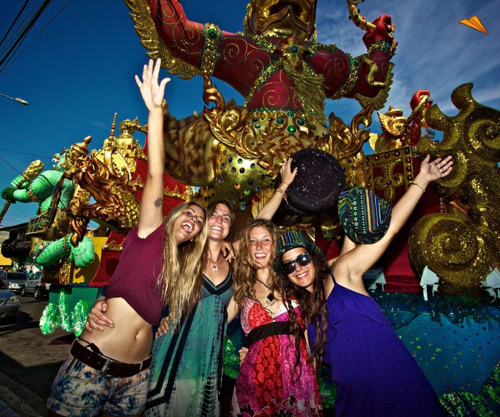 Resultado de imagen para carnaval de panamá
