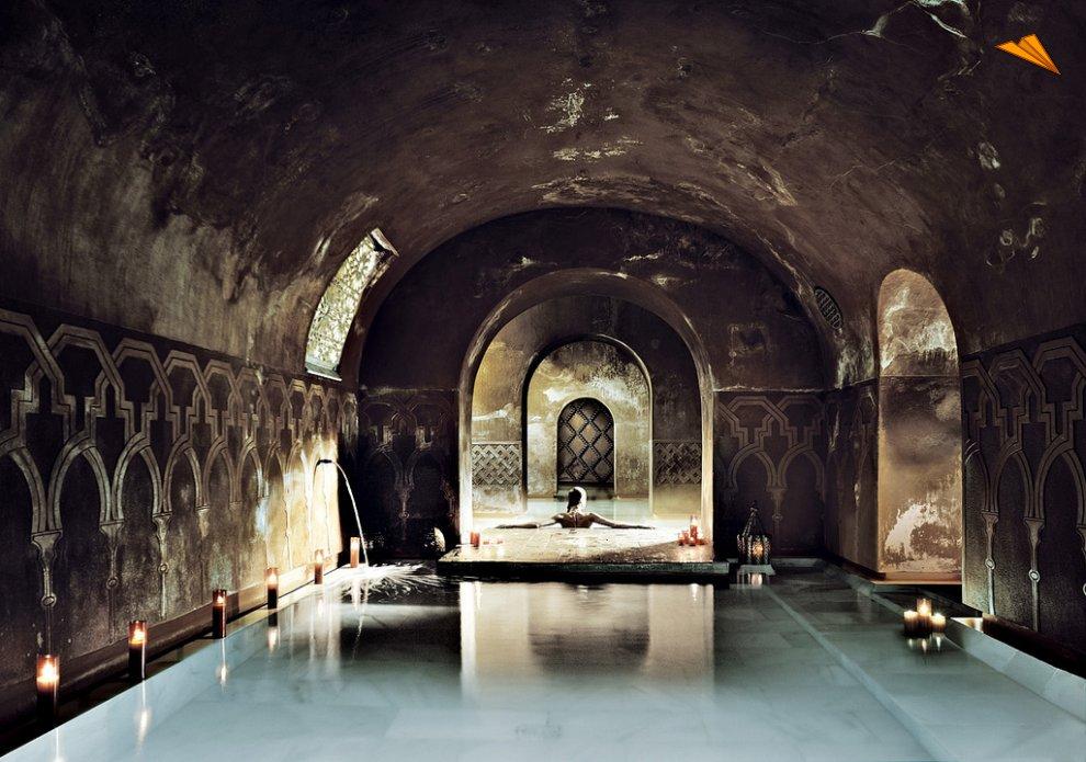 Balneario medina mayrit madrid fotos de viajes for Hoteles en la calle prado de madrid