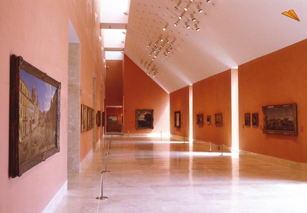 Interior del museo thyssen madrid fotos de viajes - Foto foto interior ...