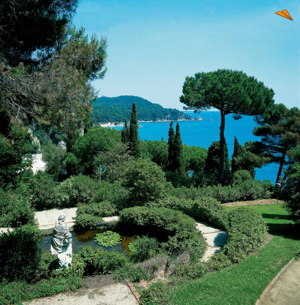 El jard n de santa clotilde de lloret de mar un ejemplo for El jardin romantico