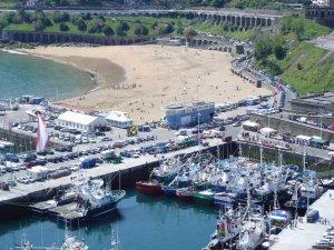fotos Getaria, Guipuzcoa. Puerto y playas en la Costa Vasca