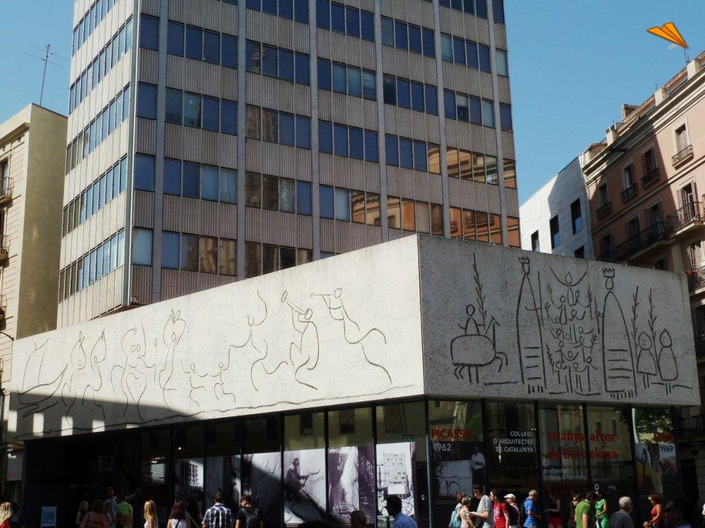 Colegio de Arquitectura de Cataluña. Turismo en Barcelona.. Fotos de ...