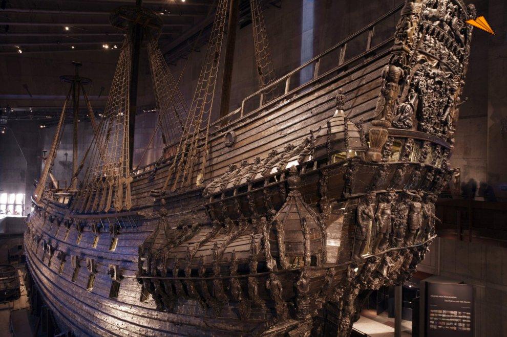 Navío de guerra Vasa. Estocolmo, Suecia. Fotos de viajes. Ola Ericson/image bank sweden