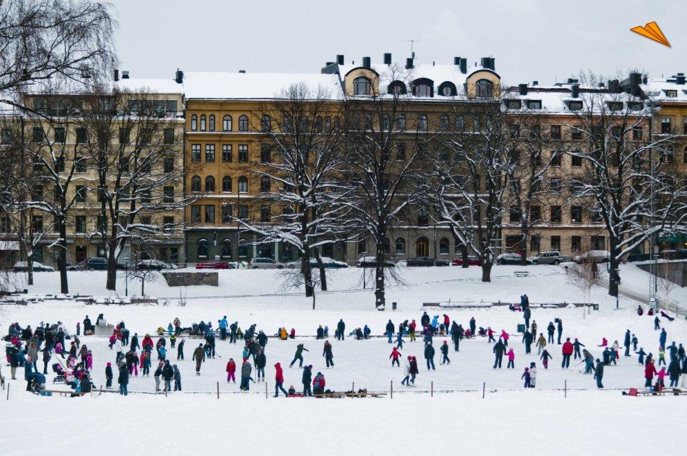 patinaje en estocolmo suecia helena wahlman image bank sweden
