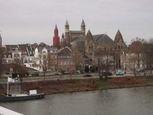 fotos Maastricht, casco antiguo de la ciudad. Holanda