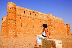 fotos Jordania. Castillos del desierto