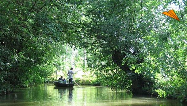 Turismo. Marais Poitevin. Las Marismas del Poitou