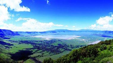 Ngorongoro, famosa por su gran cráter