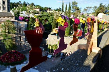 Girona, Temps de Flors, la fiesta de la primavera