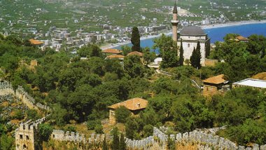 Antalya y la región del mediterráneo