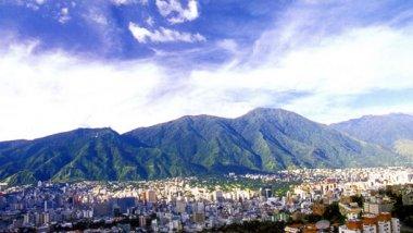 Venezuela - Caracas. En el valle montañoso