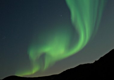 Suecia. Auroras boreales, las luces del norte