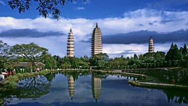 Dali y sus magníficas Tres Pagodas