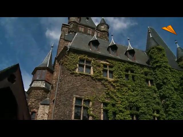 video Alemania, región de Cochem y romántico valle del Mosela