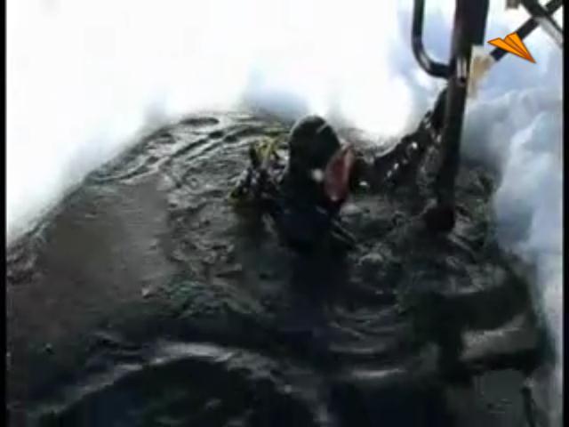 video Andorra, submarinismo en el hielo
