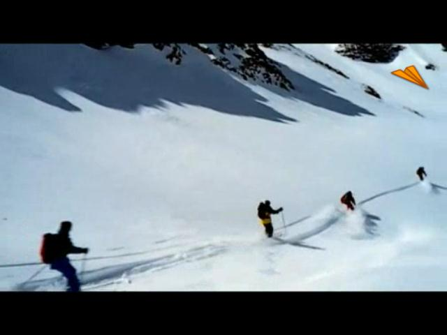 video Austria, baile en la nieve