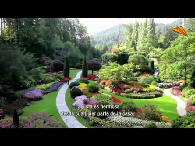 V deo canad los jardines de victoria turismo y viajes for Imagenes de jardines con estanques