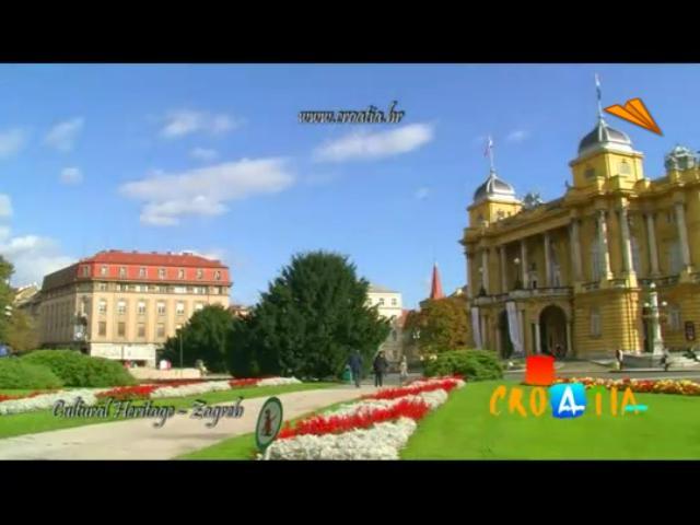video Zagreb, Croacia. Qué visitar y qué hacer. Principales destinos turísticos