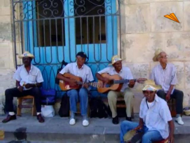 video Cuba, musica en las calles