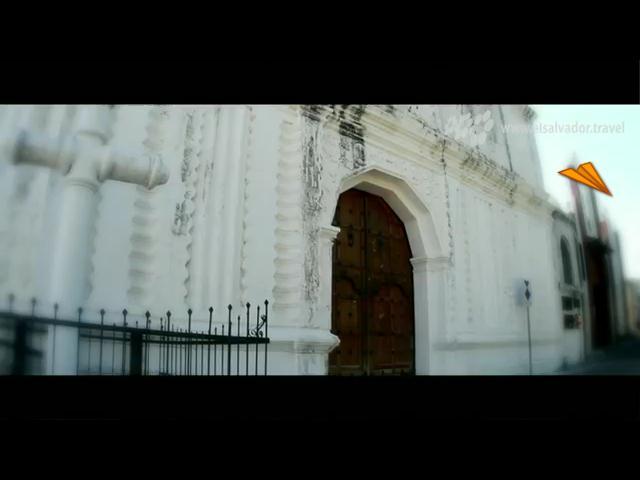 video El Salvador, la Iglesia del Pilar de San Vicente