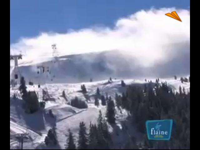 video Francia - Flaine, nieve blanca