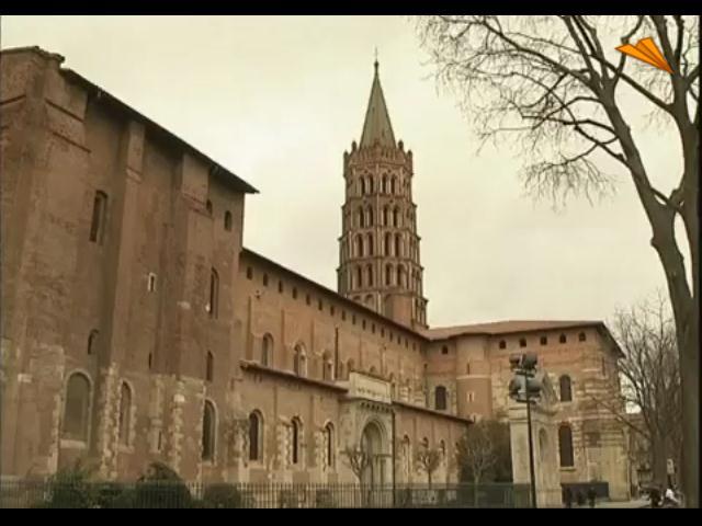 video Francia, Toulouse. La ciudad rosada