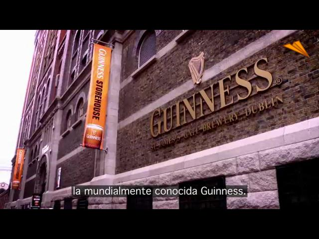 video Irlanda - Dublín, La fábrica de Guinness