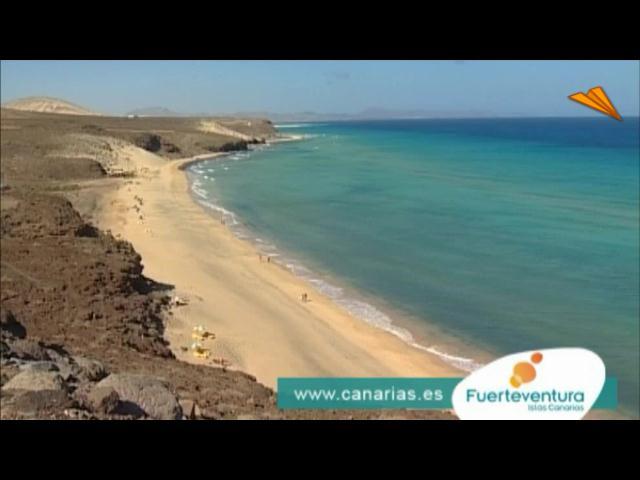 video Islas Canarias - Isla de Fuerteventura, la playa de canarias