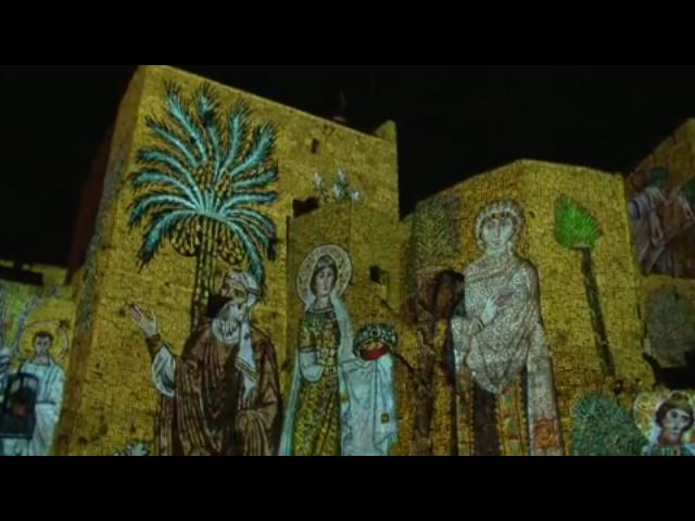 video Israel - Jerusalén - Museo Torre de David, noche espectacular