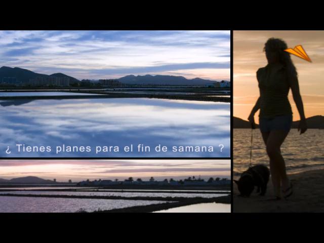 video Mar Menor, Murcia. Qué hacer