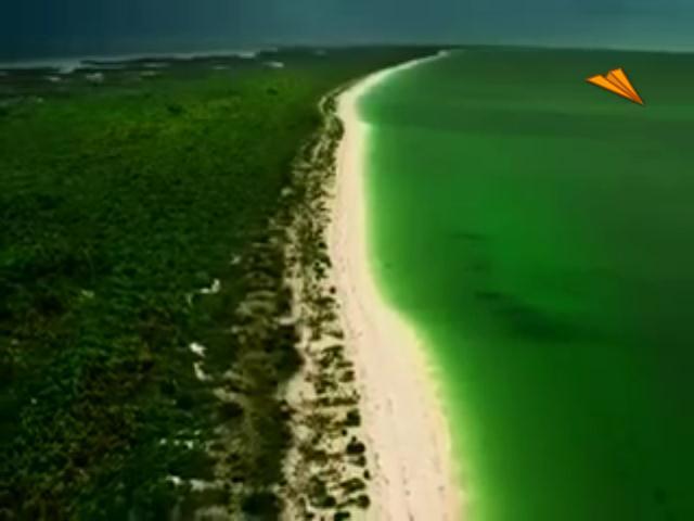 video México - Quintana Roo, formada por tierras de sueño