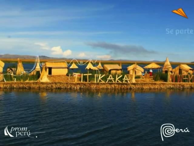 video Perú - Puno, casa del lago Titicaca