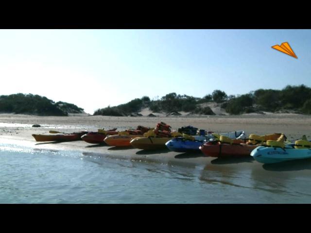 video Cádiz - San Fernando, rutas en kayac