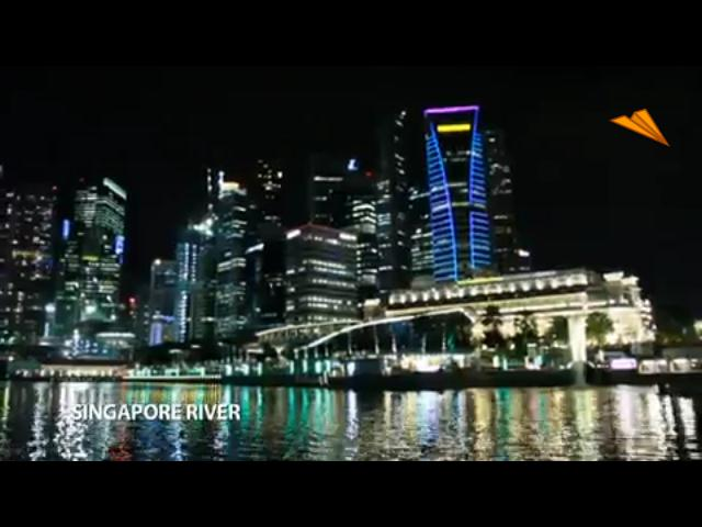 video Singapur, noches romanticas